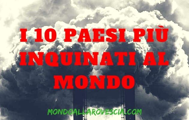 paesi più inquinati al mondo