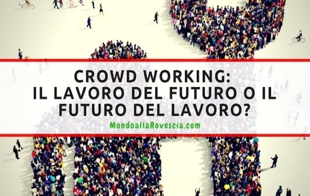 crowd workers in Italia