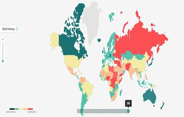 Global Peace Index 2018