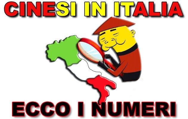 quanti cinesi vivono in Italia