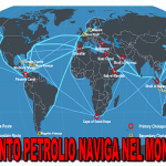 Quanto petrolio naviga nel mondo?