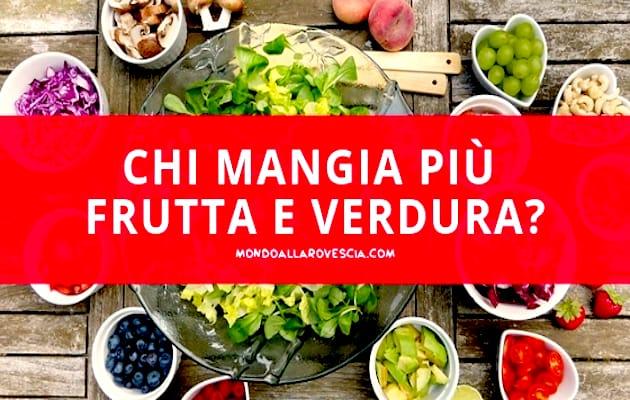 consumi di frutta e verdura