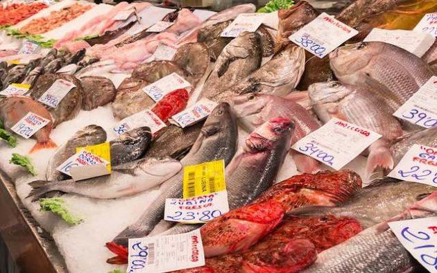 consumo di pesce nel mondo
