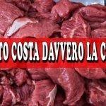 Quanto costa davvero la carne?