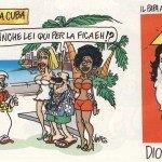 Vignetta: Papa Benedetto XVI a Cuba