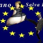 Foto esclusiva dell'incontro Hollande-Merkel