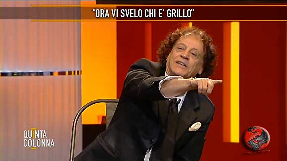 Orlando Portento a Quinta Colonna