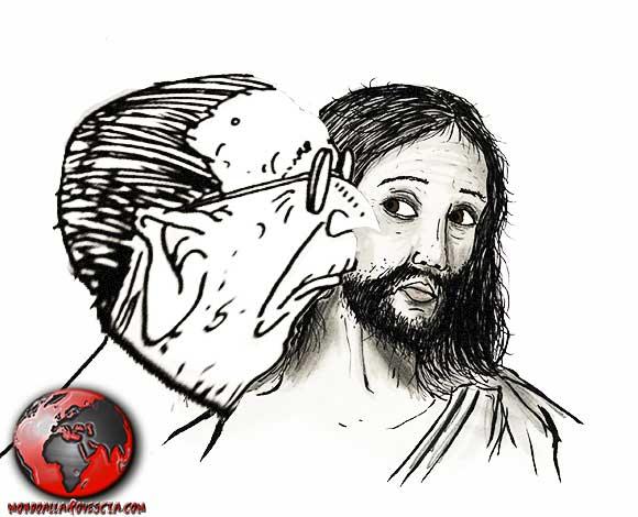 Bacio-Andreotti-Andreotti-Gesu-Cristo-Morte