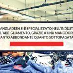 Il costo di produzione di una t-shirt