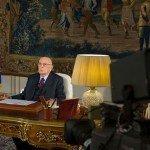 Napolitano, il discorso di fine anno che non farà mai