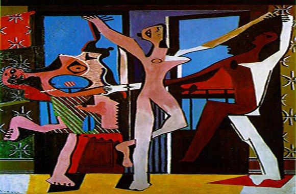 picasso-Le-tre-danzatrici-arlecchino