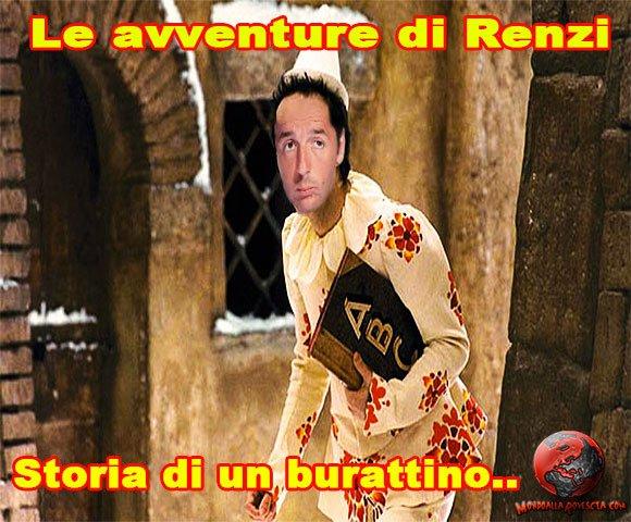 Renzi-Governo-Renzi-Pinocchio