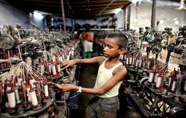 abbigliamento sfruttamento dei lavoratori