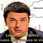 Renzi aumenta l'Iva e la benzina #italianostaisereno