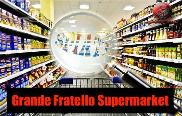 """Siamo tutti spiati al """"Grande Fratello Supermarket"""""""
