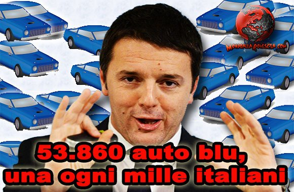 Matteo-Renzi-auto-blu