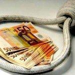 Quattro famiglie su dieci, in Italia, sono indebitate