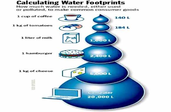 Quanta acqua ci vuole per produrre un caffè