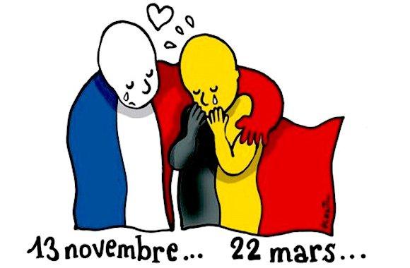 #Bruxelles-attentati-terrorismo-Parigi