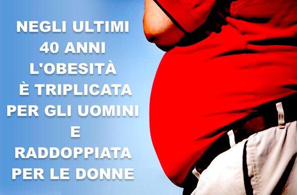 allarme obesità