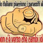 Il popolo italiano ha i governanti che si merita