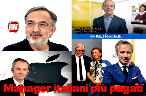 top manager italiani