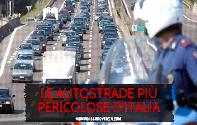autostrade più pericolose d'Italia