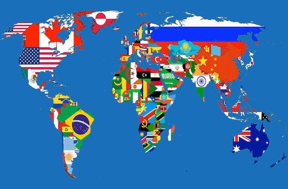 bandiere mondo