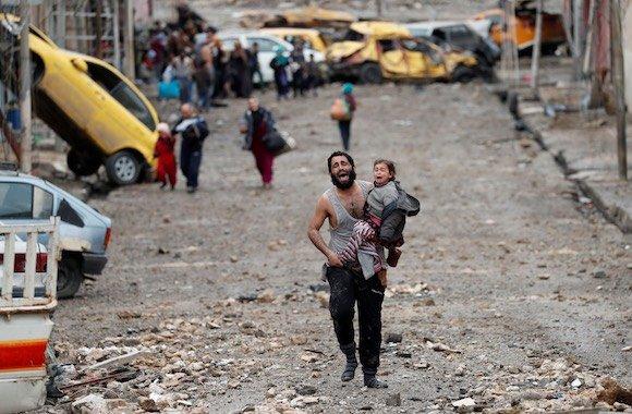 Mosul ovest morti