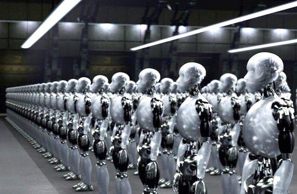 esercito di robot