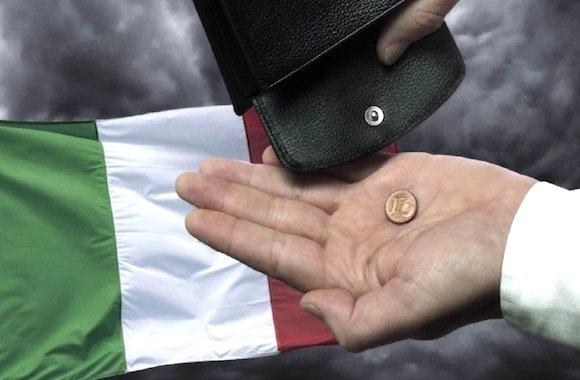 sempre più poveri in Italia