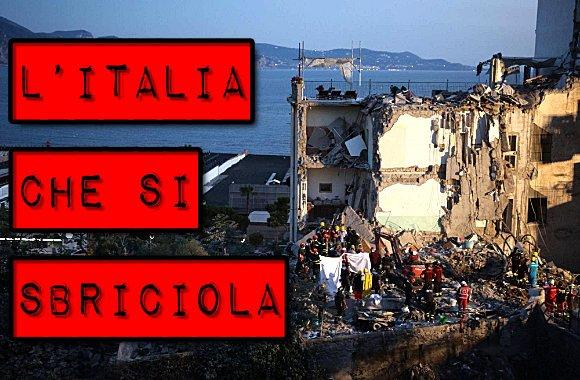 edifici italiani a rischio crollo