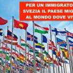 Migranti: Svezia il paese migliore dove vivere, Italia solo 19esima