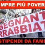 Insegnanti italiani meno pagati d'Europa