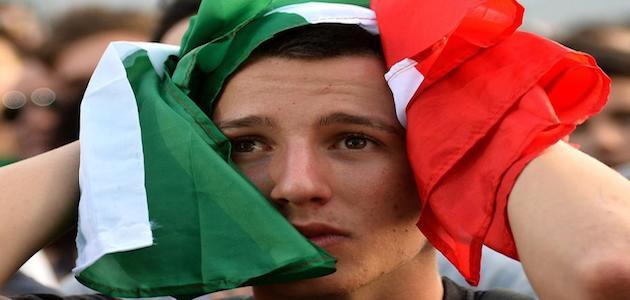 Il danno economico dell'Italia fuori dal Mondiale