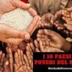 I 10 Paesi più poveri del Mondo