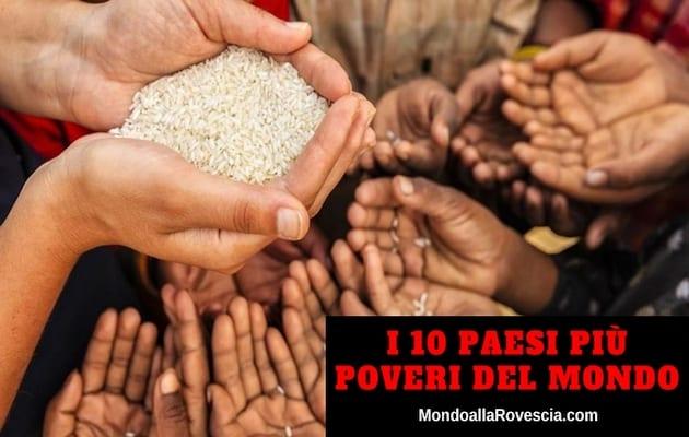 Paesi più Poveri del Mondo