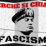 Perché il Fascismo si chiama così?