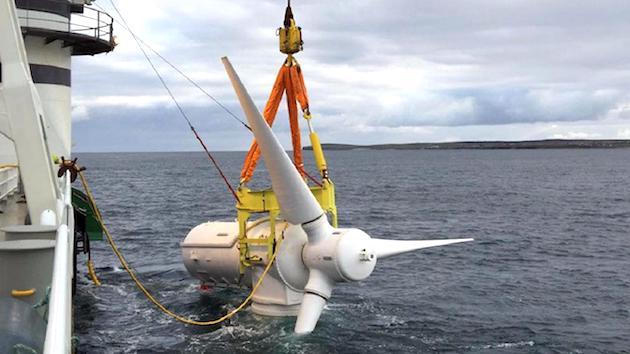 turbine mareomotrici