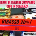 Tre milioni di italiani comprano solo cibo in scadenza