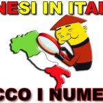 Quanti cinesi ci sono in Italia?