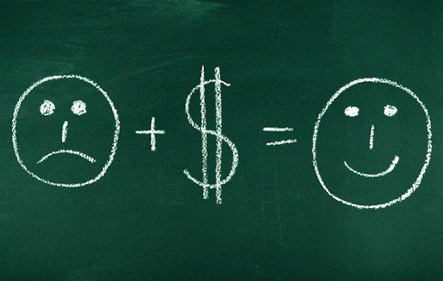 quanti soldi danno la felicità